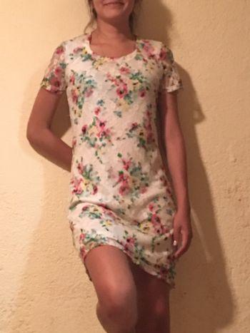 Vestido floral súper in