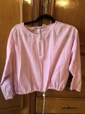 Blusa rosa de zara