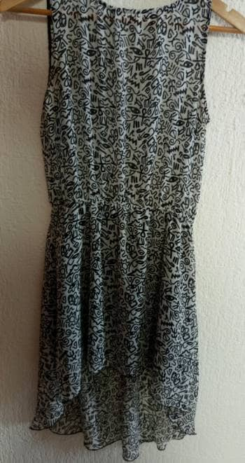 3x1 vestido high low