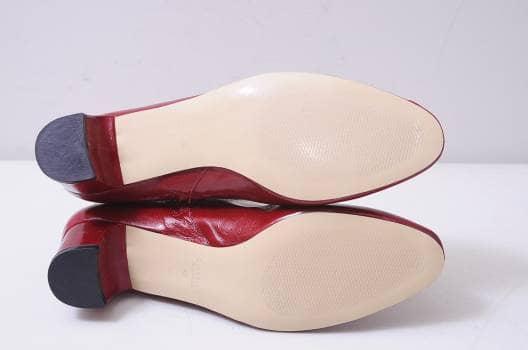 8713b8492 Botines rojos de piel - GoTrendier - 716370