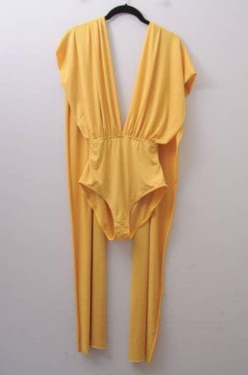 Pantiblusa amarilla