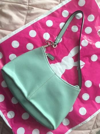 Bolso de color Menta