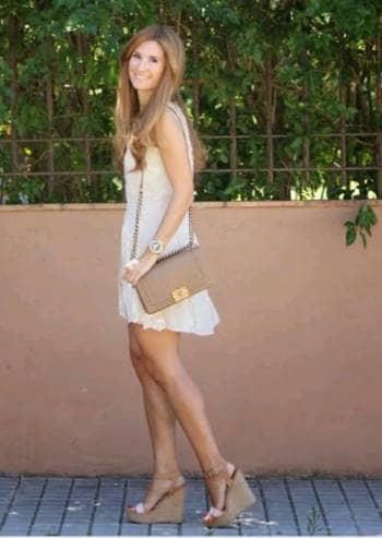Cuñas beige