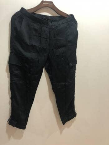 Pantalon cargo capri