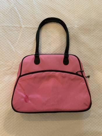 Bolsa para computadora rosa