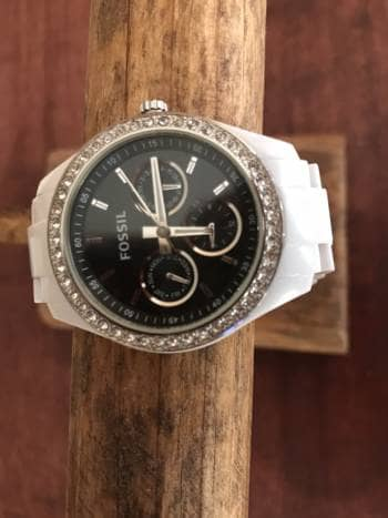 036671dbe34a Reloj fossil blanco - GoTrendier - 525051