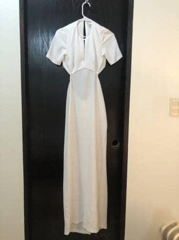 Vestido Blanco Noche
