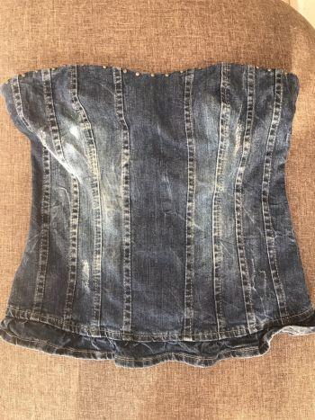 b8eedd464 Blusa tipo corset - GoTrendier - 249702