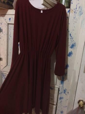 Vestido Rojo Vino
