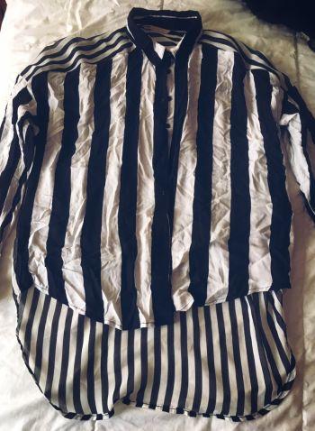 Camisa a rayas Bershka