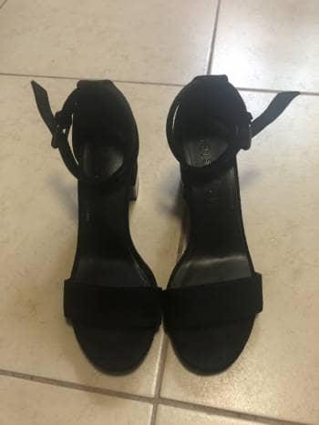 Zapatillas negras Bershka