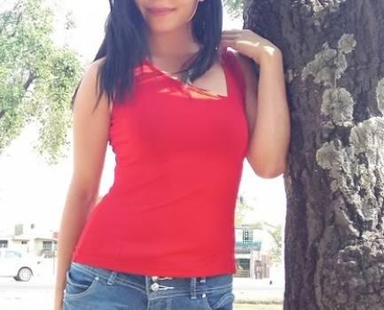 Blusa roja tirantes