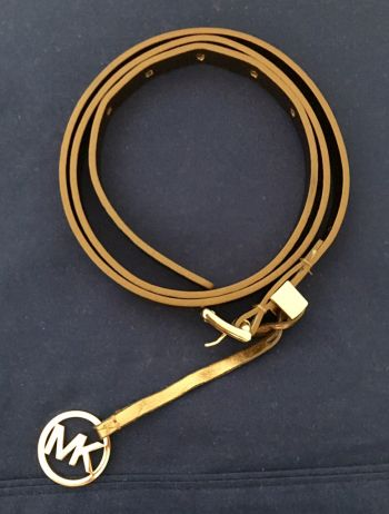 Cinturón color cobre MK