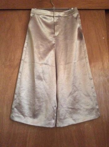 2017 pantalón culotte metálico Forever 21