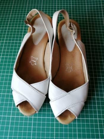 4280165273c Zapatos Flexi Blancos tacón Corrido - GoTrendier - 1718523