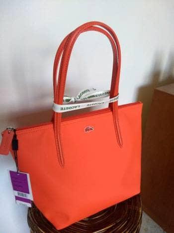 f8fe963e044c8 BOLSA LACOSTE naranja - GoTrendier - 1011333
