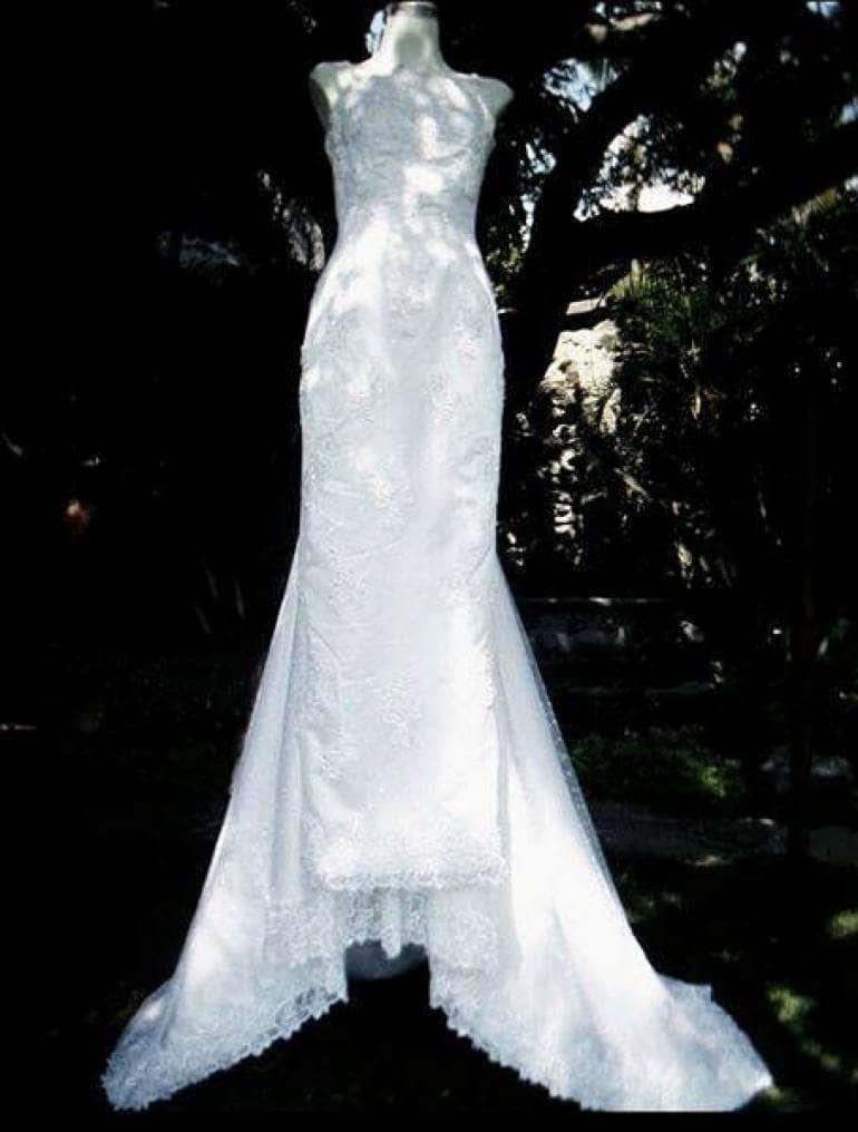 8b46c545629 Vestido de Novia con Cauda desmontable - GoTrendier - 1178633