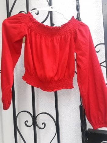 Camisa Rojo obscuro H&M