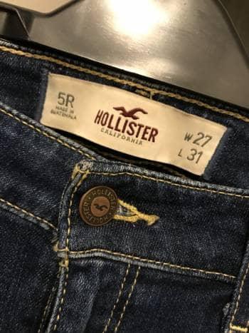 Jeans hollister talla 5 - GoTrendier - 781173 081f107da2f0b