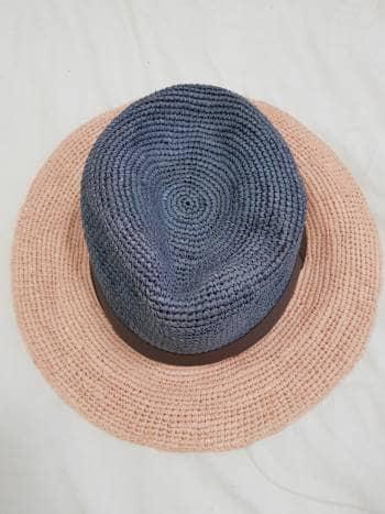 Sombrero bicolor verano