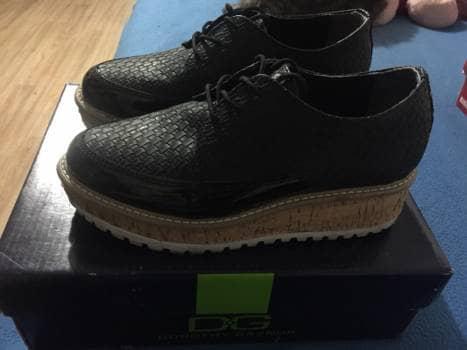 Zapato Negro Dorothy Gaynor