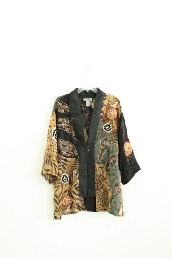 Kimono con estampado