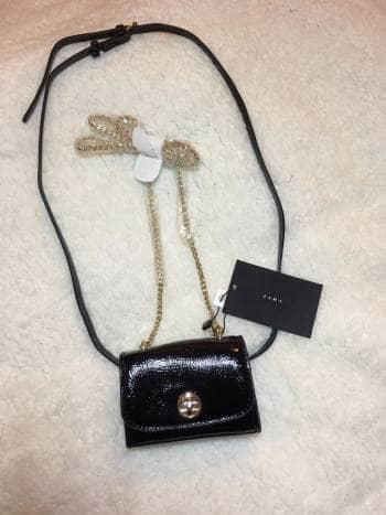 Mini bolso negro