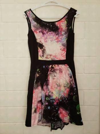 Vestido galaxy