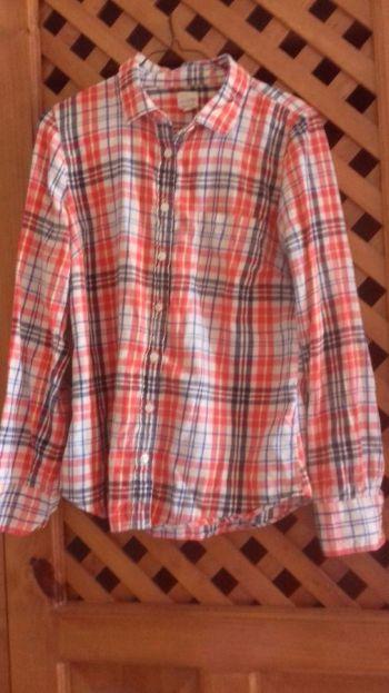 Camisa de cuadros franela