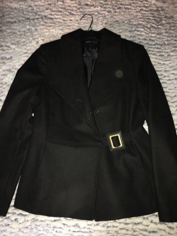 Nuevo!!! Abrigo negro
