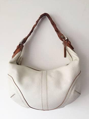 Bolsa blanca Coach