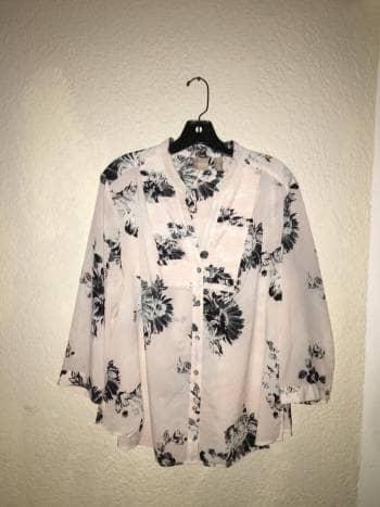 Camisa rosa pastel