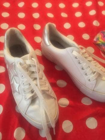 Tenis blancos tommy