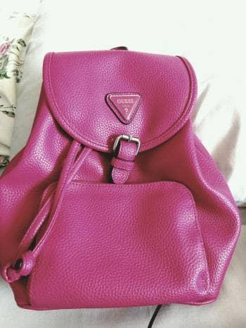 Mochila GUESS rosa