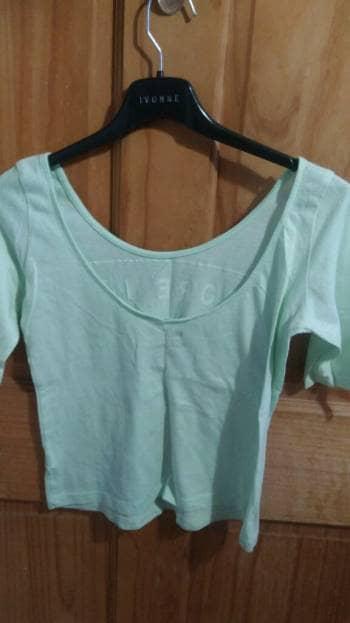 Camisa color menta
