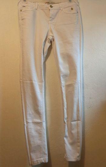Jeans blancos, Bershka