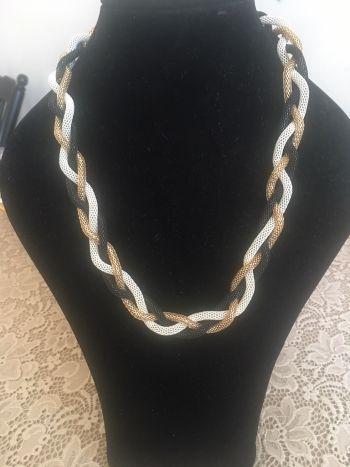 Accesorize Collar 3 hilos trenzados