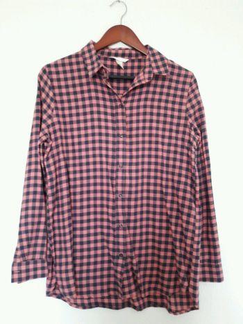 Camisa nueva de cuadros rosas con azul