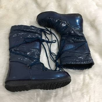 Moon boots azules