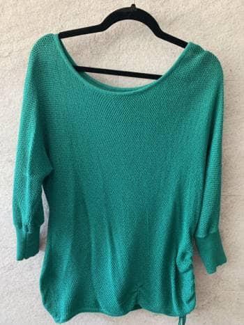 Blusa tejida tipo sweater