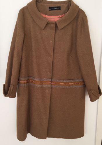 Abrigo de lana súper caliéntito Zara