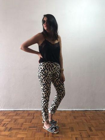 Pantalones con print