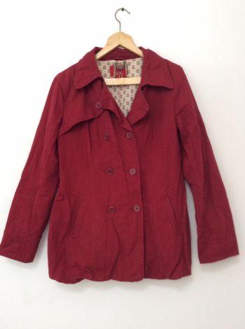 Abrigo rojo mossimo