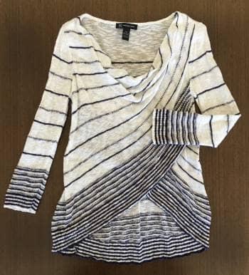 ¡¡VENDIDO!! Suéter Crossover de Algodón
