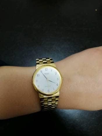 Reloj Dorado, Unisex