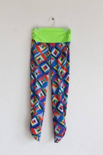 LEGGING Colombiano ESTAMPADO MULTICOLOR