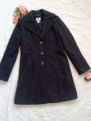 Abrigo largo color gris