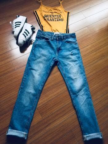 Jeans clarito stretch bsk envío gratis ❗️