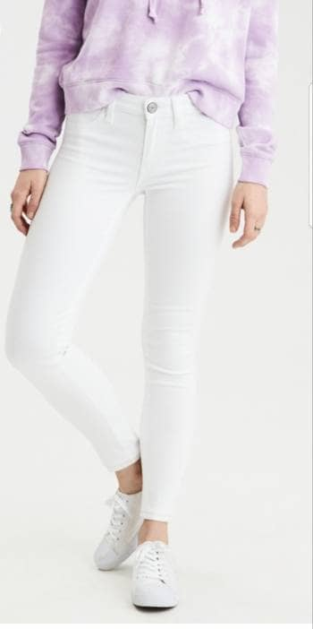 Jeans blancos súper stretch