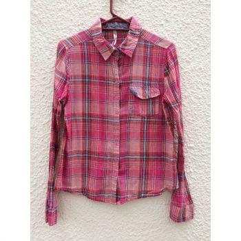 Camisa cuadrada de algodón